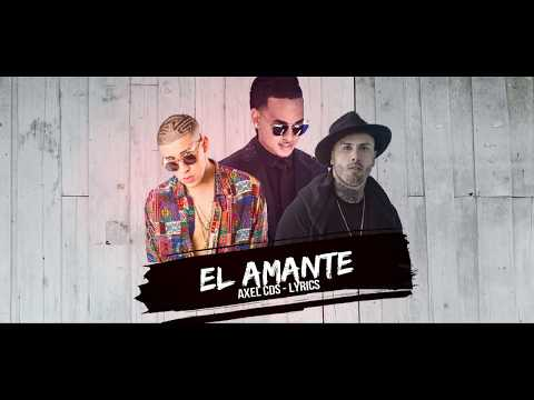 El Amante (Remix) - Nicky Jam x Bad Bunny x Ozuna (Letra - Lyrics) #LC