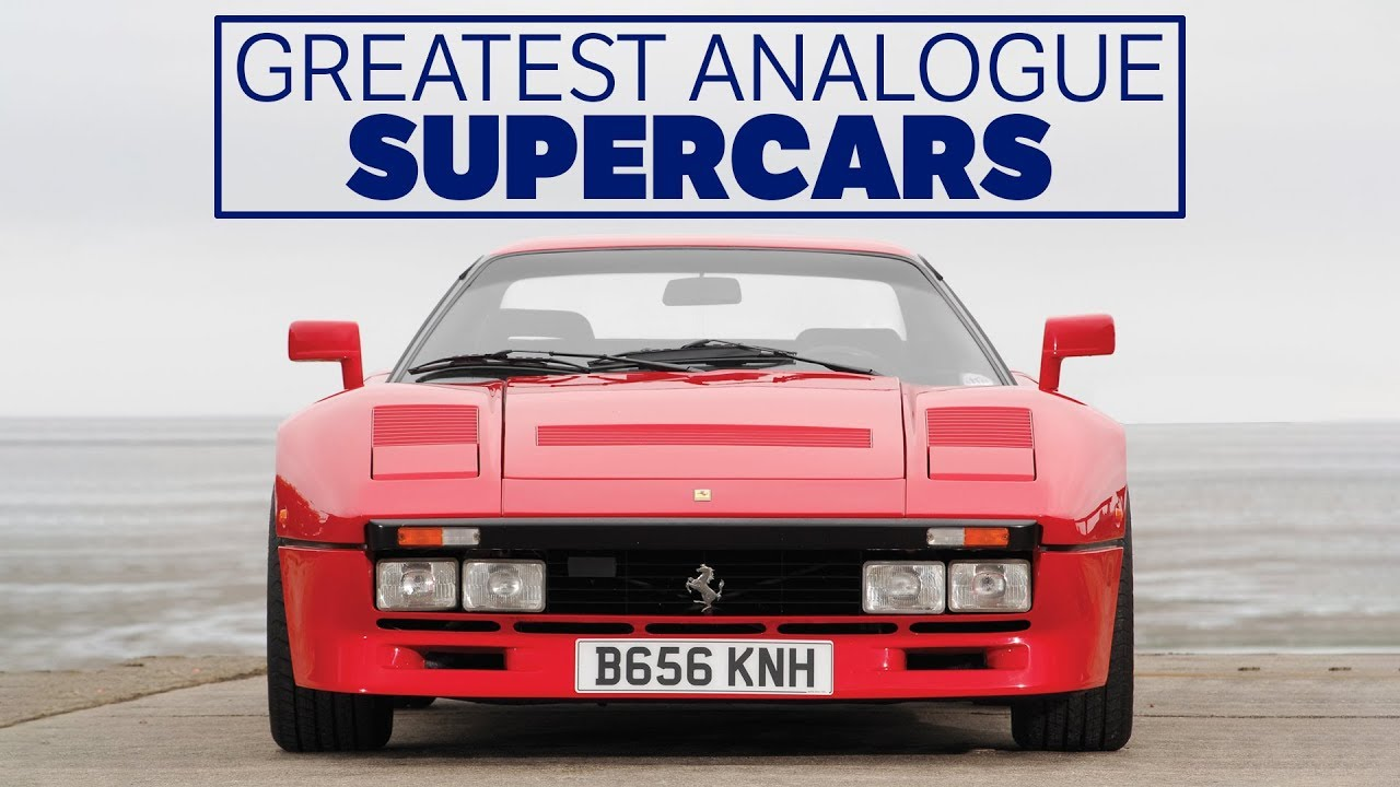 The 7 Greatest Analogue Supercars Of All Time