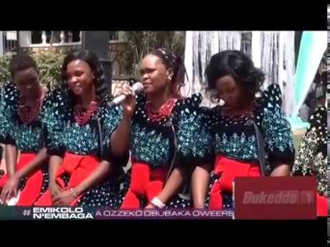 Emikolo n'Embaga; Jane Ajambo ayanjula Deogratious Kyanga. AAA