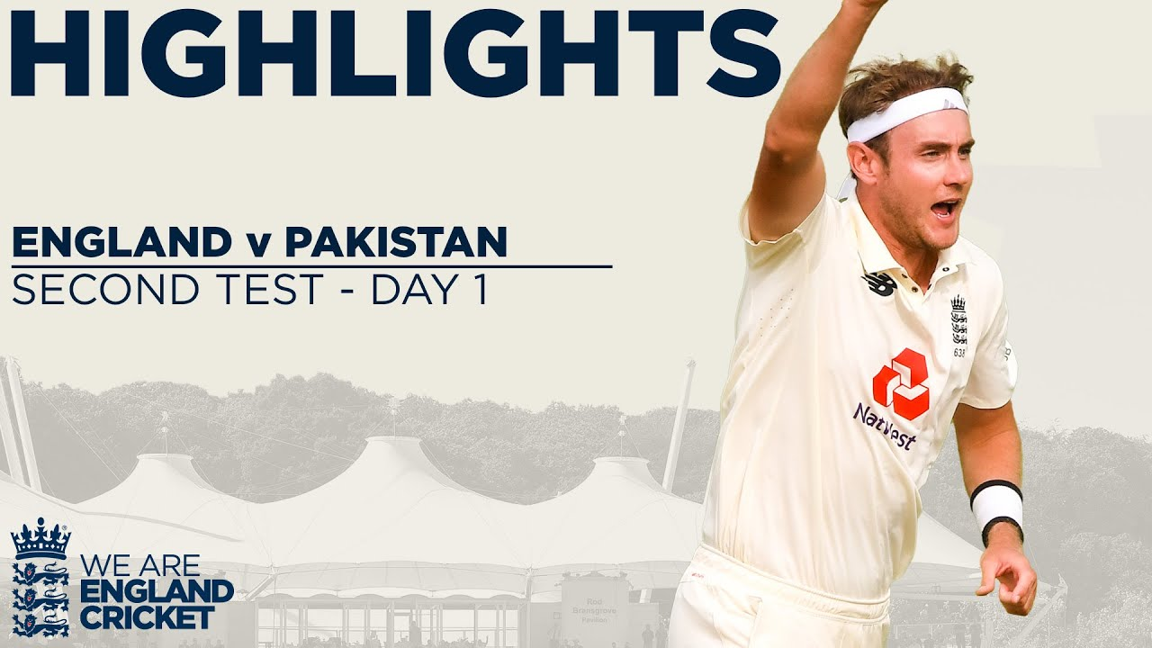 Day 1 Highlights | England Bowlers Take Opening Day Advantage! | England v Pakistan 2nd Test 2020