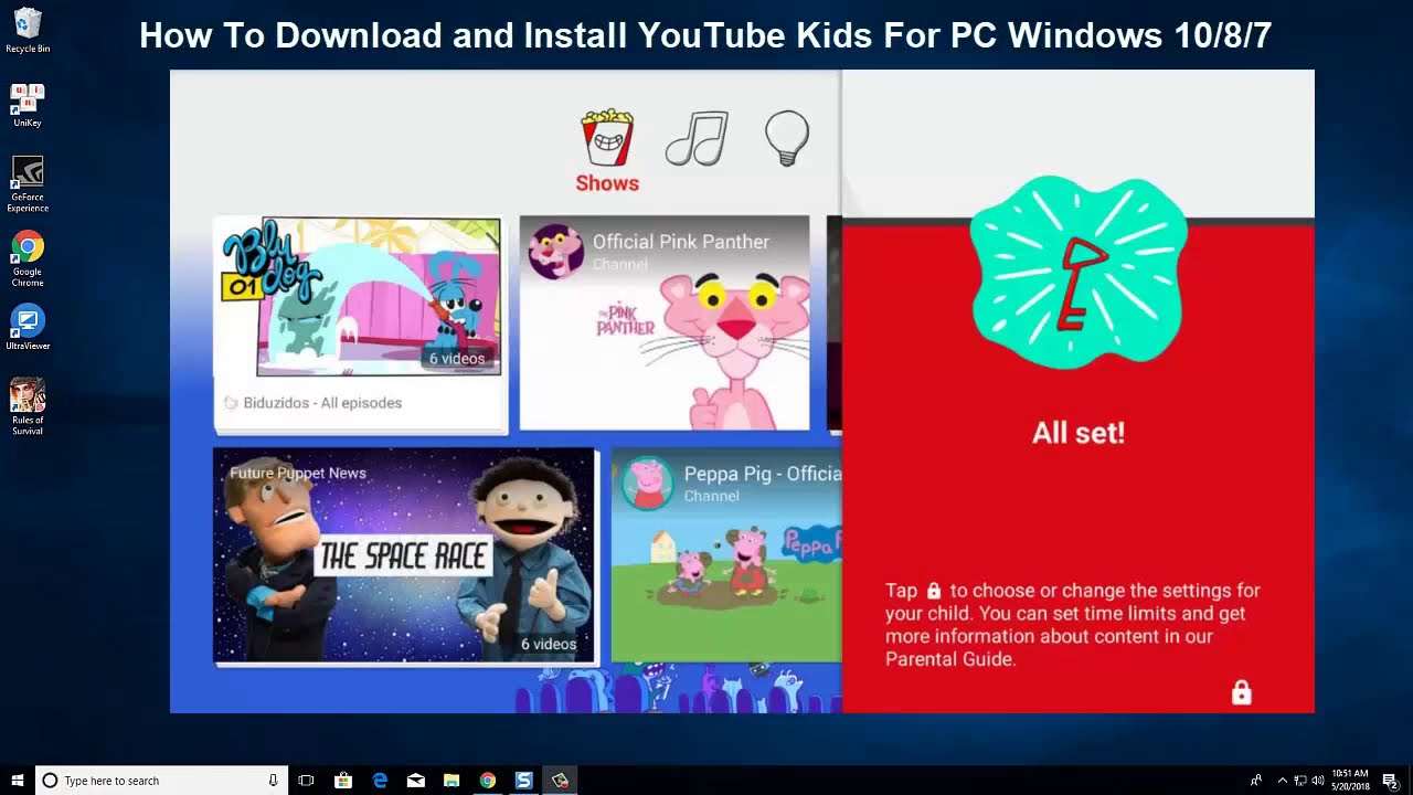 install youtube downloader