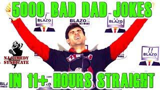 Bad Dad Joke Marathon - 5000 Bad Dad Jokes in 11+ Hours Straight