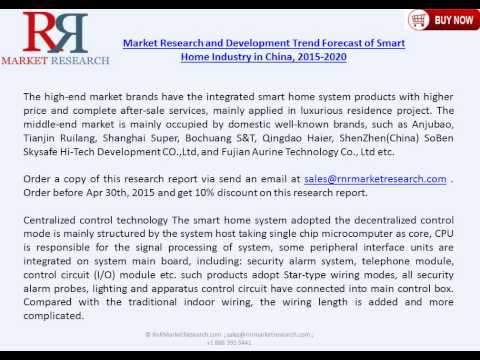 China Smart Home Market 2020: Industry Trends and Key Drivers