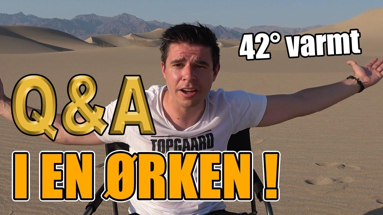 Q&A i en ørken!