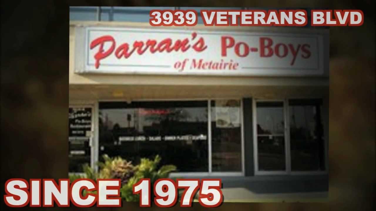 Parran S Po Boys Restaurant 885 3416 Com Catering Service Metairie La