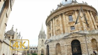 OXFORD in 4K | ENGLAND | UNIVERSITY TOWN thumbnail