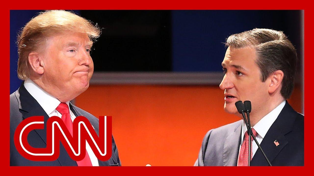 CNN:Watch Ted Cruz's eerie prediction about Trump