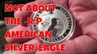 This video is NOT about the American Silver Eagle Enhanced Reverse Proof : )=