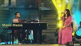 Cover images Nenjikulla Umma Mudinchirukaen l Shakthisree l AR Rahman Unplugged