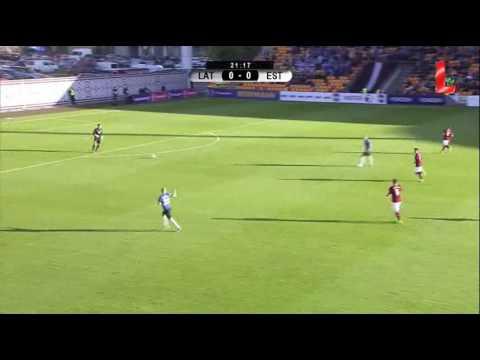Латвия - Эстония 1:2 видео