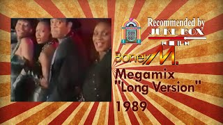 Boney M. Mega Mix (Long Version) 1989