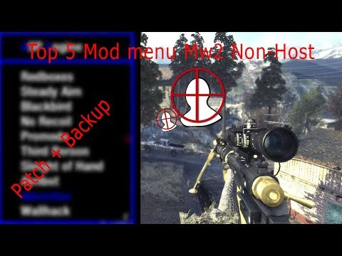 Best Non Host Mod Menu MW2 PS3 HAN , Backup , Patch , CFW & OFW