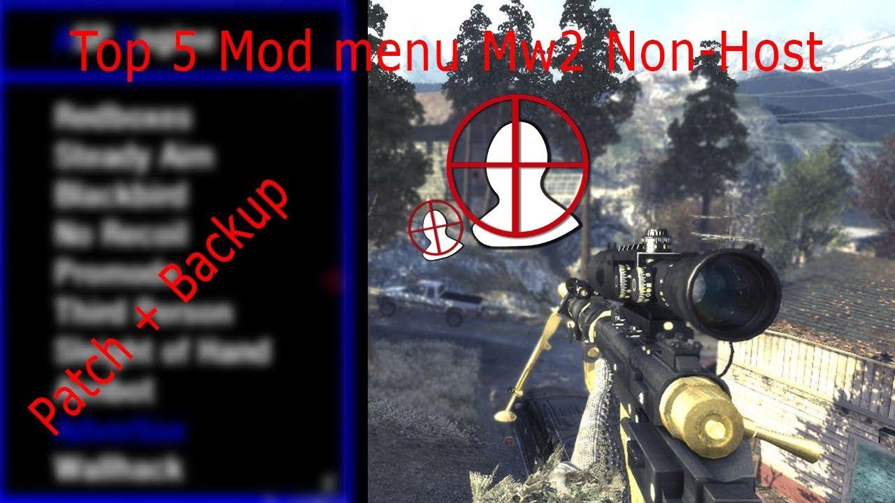 Best Non Host Mod Menu MW2 PS3 HAN , Backup , patch , CFW & OFW
