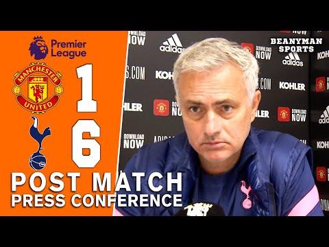 Man Utd 1-6 Tottenham - Jose Mourinho - Post Match Press Conference