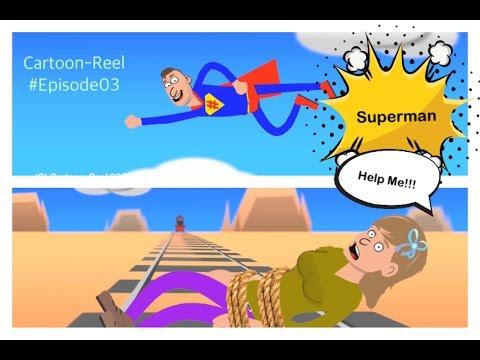 SUPERMAN Help Me | Episode03 | Dark Humor | By Cartoon-Reels
