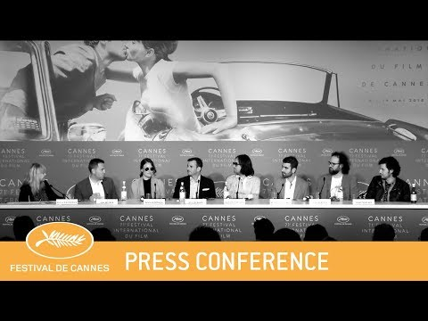 UNDER THE SILVER LAKE - Cannes 2018 - Press Conference - EV