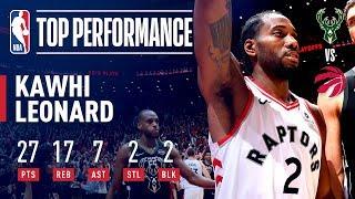 Kawhi Leonard Leads the Raptors to the NBA Finals! | May 25, 2019