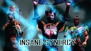 MKX Mobile. Insane Synergy Team. Dark StarInSky vs. Fatal Battle.