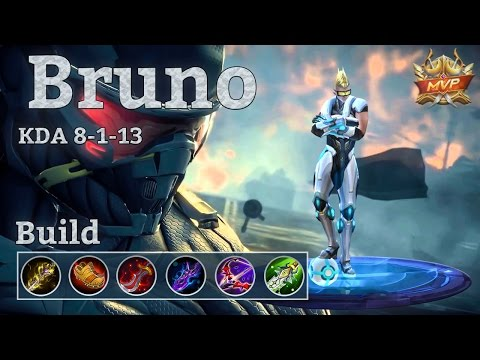 Mobile Legends: Bruno MVP, Player of the Match!
