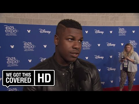 INTERVIEW: John Boyega Talks STAR WARS: THE LAST JEDI At D23 [HD]