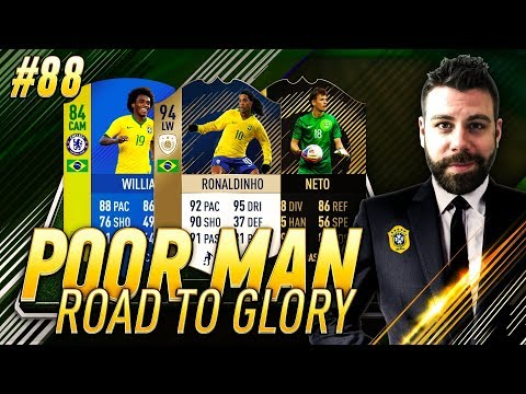 BRAZILIAN SQUAD BUILDER AND MARQUEE MATCHUPS!!! - Poor Man RTG #88 - FIFA 18 Ultimate Team