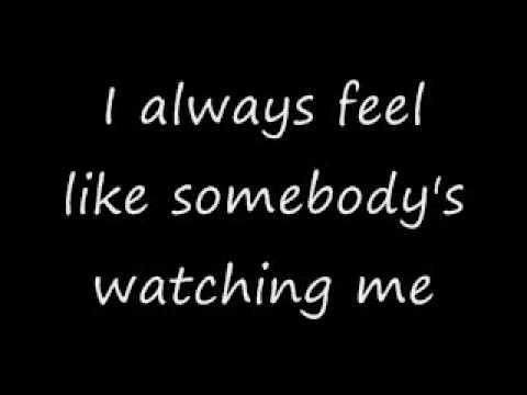 Somebody's Watching Me w/ lyrics (Geico)
