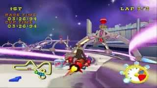 Looney Tunes: Space Race (PS2) walkthrough - Acme Grand Buffet