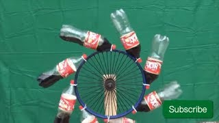 How to Make Free Energy Perpetual Motion With coke Bottles Diy Experiment
