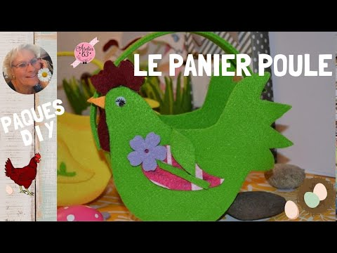 diy 2mm pour cr er panier poule de paques tutoriel. Black Bedroom Furniture Sets. Home Design Ideas