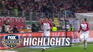 Video FC Augsburg vs  Hamburger SV   2017 18 Bundesliga Highlights download MP3, 3GP, MP4, WEBM, AVI, FLV Januari 2018