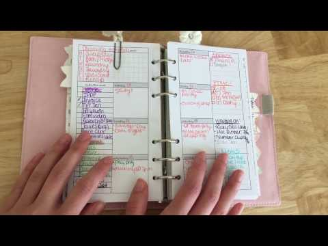 On-the-go Planner Set-up (lineup series 5 of6) GTD system, Bullet Journal, Sewmuchcrafting!!!