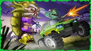 Mad Zombie Road Racer Mobile Gameplay