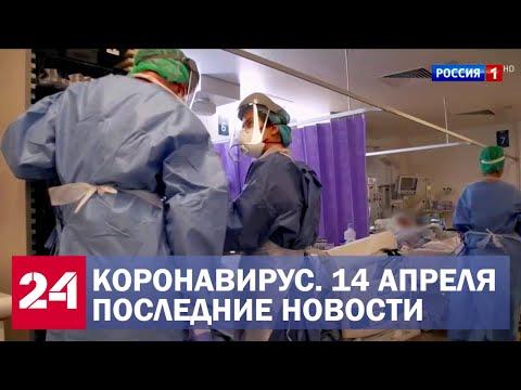 Коронавирус. Последние новости. Ситуация в России и мире. Сводка за 14 апреля