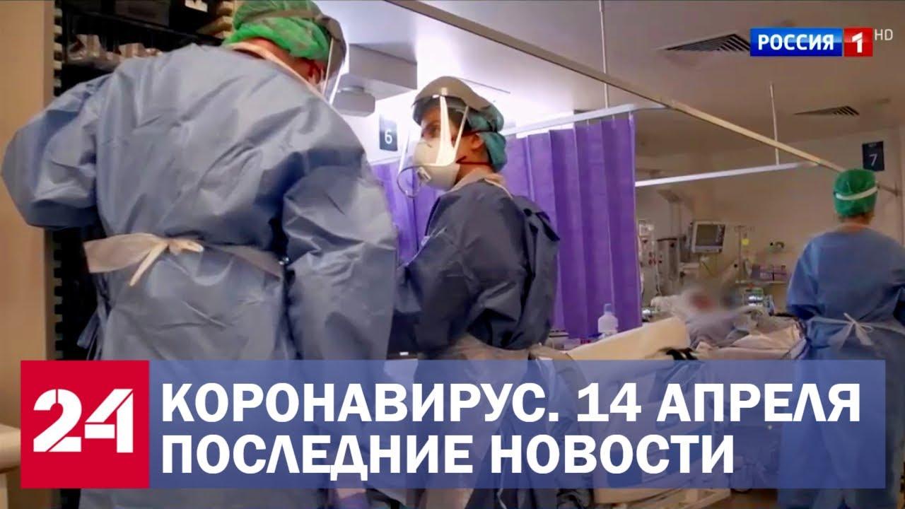 Коронавирус. Последние новости. Ситуация в России и мире. Сводка за 14 апреля Смотри на OKTV.uz