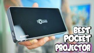 Best Pocket Pico Projector 2018   Toumei Mini C800W Review