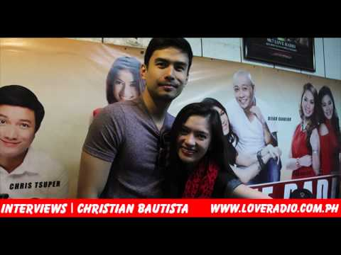 Christian Bautista at Love Radio Manila