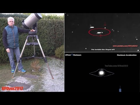 Invisible Alien Spaceships Are Watching Us (Explanation) Color  Night Vision Camera