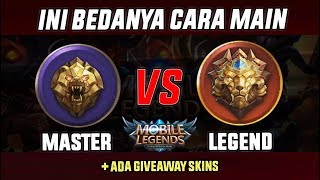 PERBEDAAN CARA MAIN RANK MASTER vs LEGEND Mobile Legend Indonesia