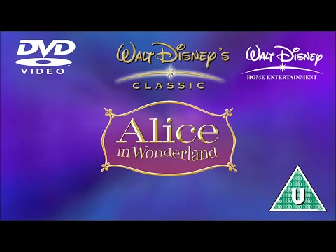 Opening to Alice in Wonderland: Special Edition UK DVD (2005)