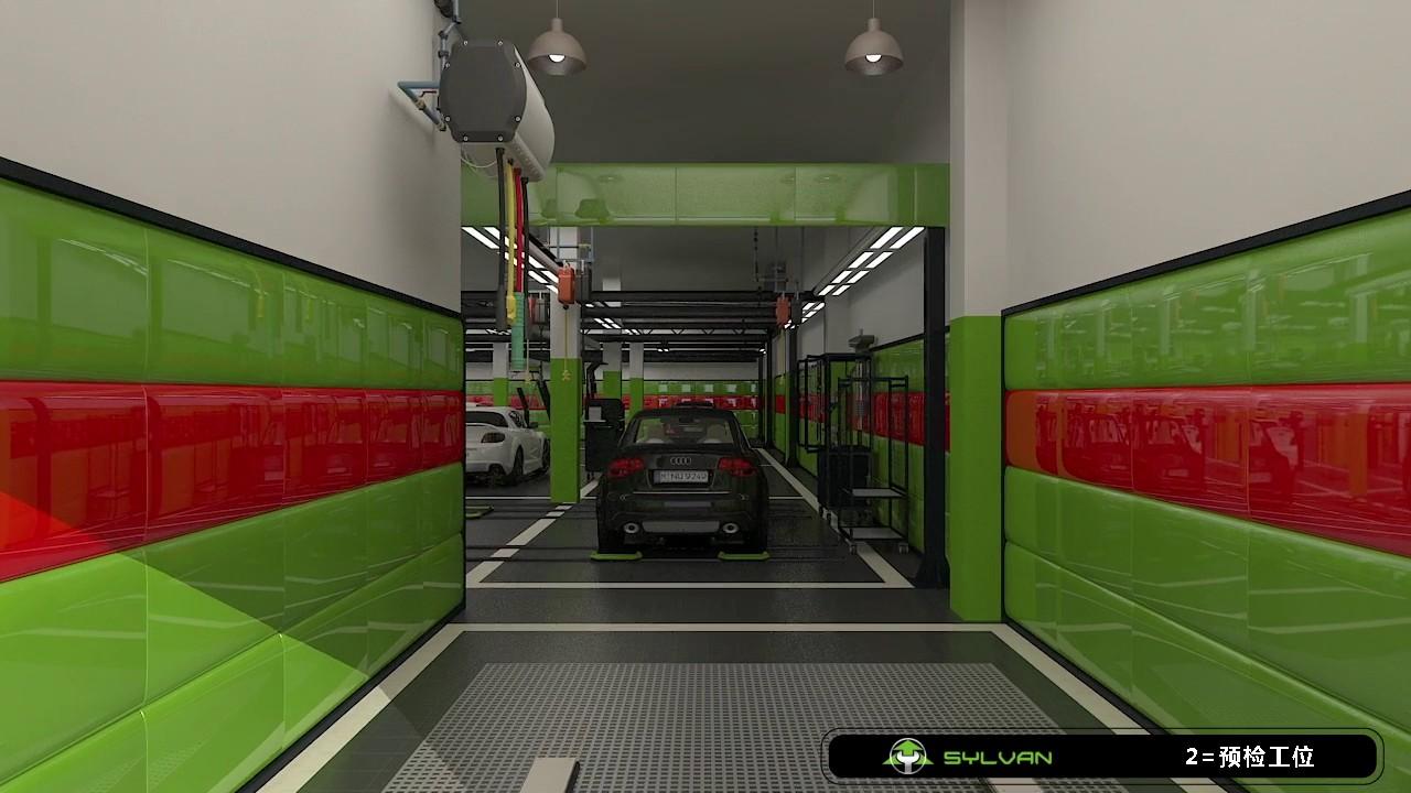Sylvan S Brand New Car Workshop Design Based On 800 Youtube
