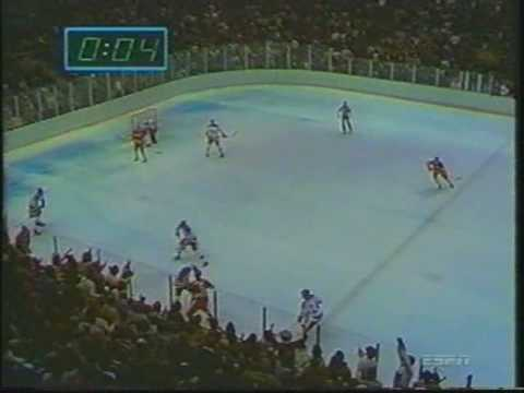 """Final Minute of the """"Miracle on Ice"""""""