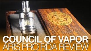 Daily Vape TV- Council of Vapor Aris Pro RDA Review