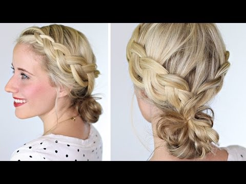 How To: Braided Bun | Lauren Conrad Hairstyle
