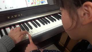 かえるの合唱☆ 集中して演奏できるようになりました。