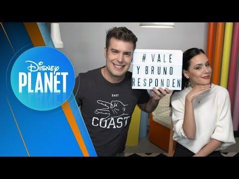Vale y Bruno Responden #1 | Disney Planet