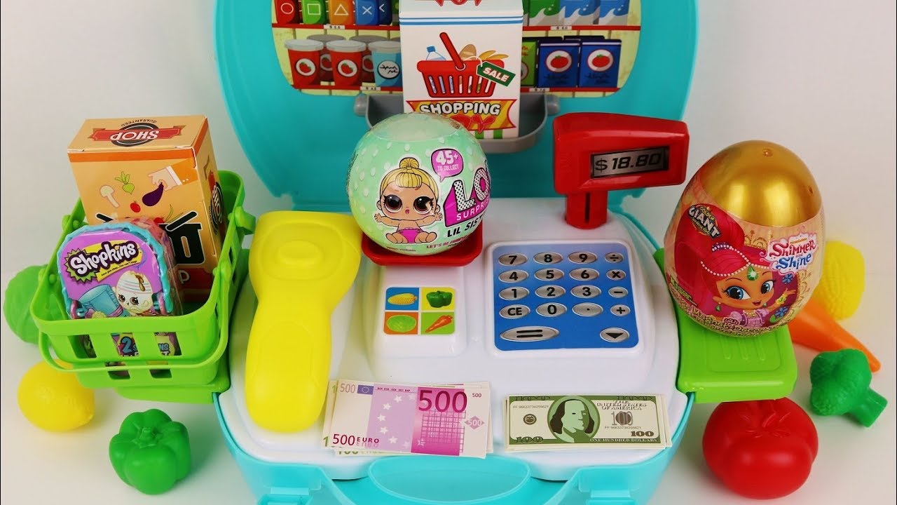 Toy Supermarket Playset Learn The Names Of Fruits