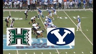 BYU vs Hawai'i Football Bowl Game 12 24 2019