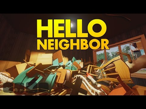 Hello Neighbor - Stealing Everything! - Let's Play Hello Neighbor Gameplay