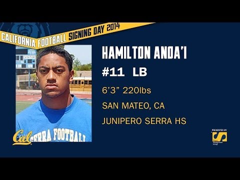 Cal Football: Signing Day 2014 - Hamilton Anoa