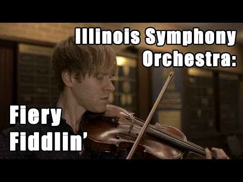 Illinois Symphony Orchestra: Fiery Fiddlin